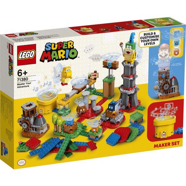 Image of Byg dit eget eventyr - skabersæt - 71380 - LEGO Super Mario (71380)