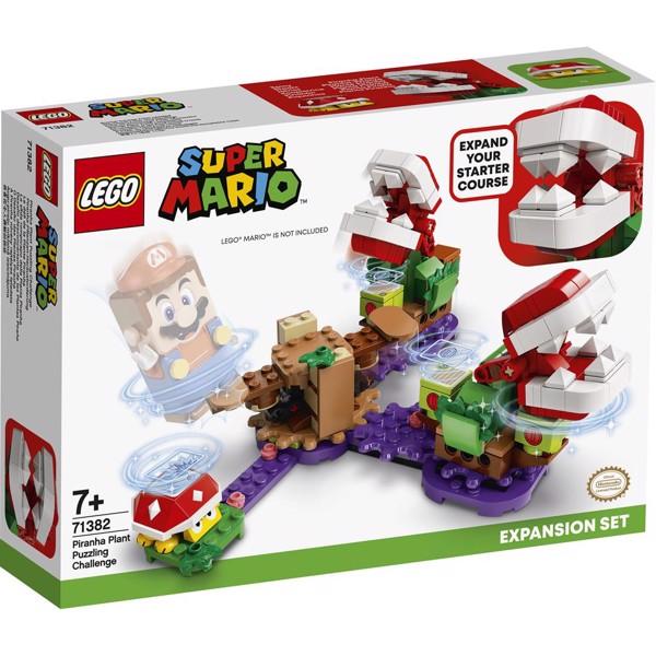 Image of Kødædende plante-udfordring - udvidelsessæt - 71382 - LEGO Super Mario (71382)