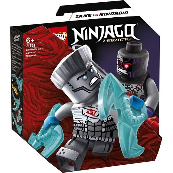 Image of Episk kampsæt - Zane mod nindroide - 71731 - LEGO Ninjago (71731)