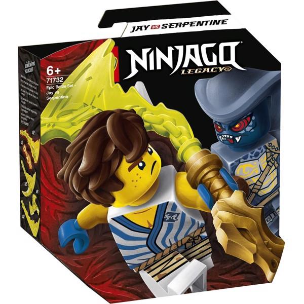 Image of Episk kampsæt - Jay mod Serpentine-kriger - 71732 - LEGO Ninjago (71732)