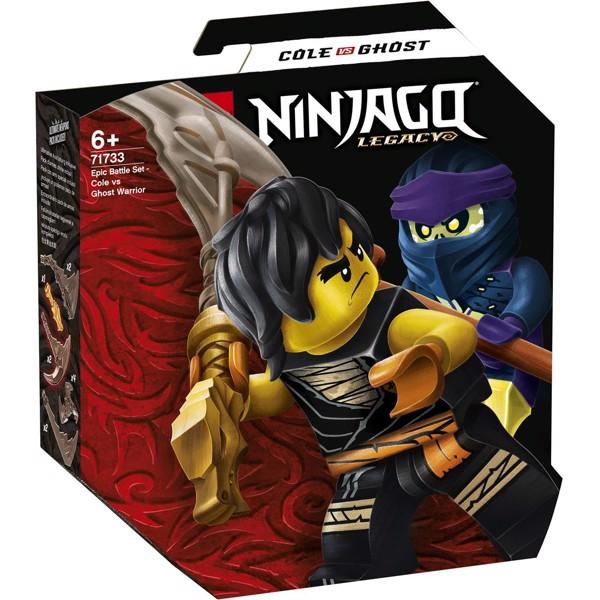 Image of Episk kampsæt - Cole mod spøgelseskriger - 71733 - LEGO Ninjago (71733)