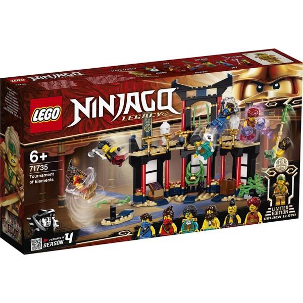 Image of Elementernes Turnering - 71735 - LEGO Ninjago (71735)