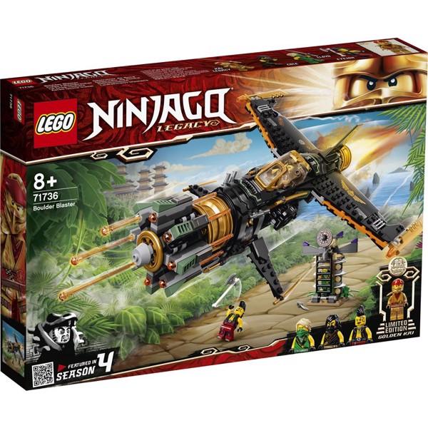 Image of Klippeknuser - 71736 - LEGO Ninjago (71736)