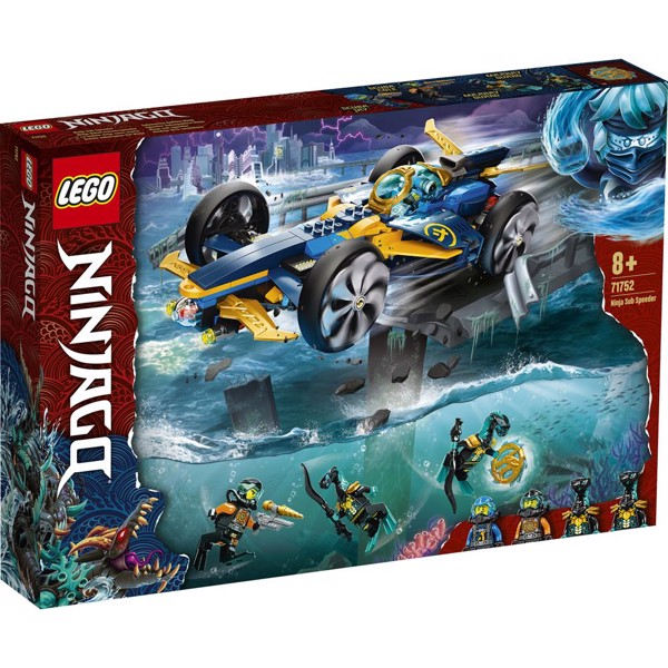 Ninja-undervandsspeeder - 71752 - LEGO NINJAGO