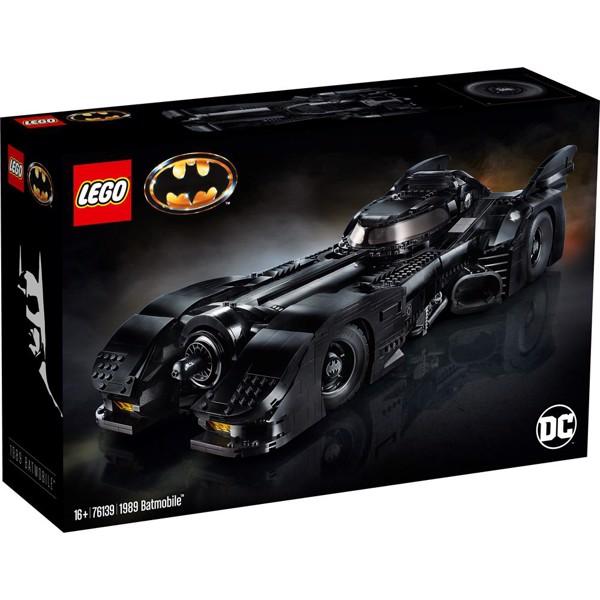 Image of 1989 Batmobile - 76139 - LEGO Super Heroes (76139)
