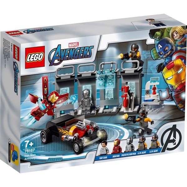 Image of Iron Mans våbenkammer - 76167 - LEGO Super Heroes (76167)