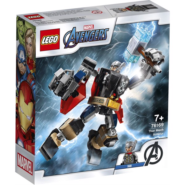 Image of Thor Mech Armor - 76169 - LEGO Super Heroes (76169)