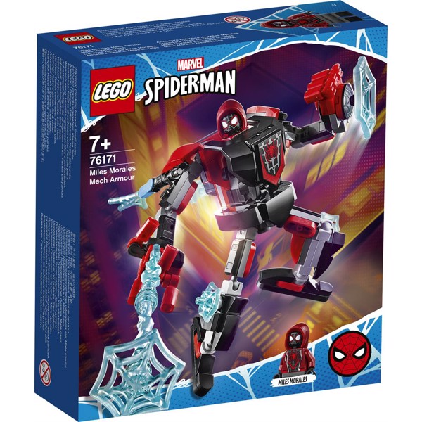 Image of Miles Morales Mech Armor - 76171 - LEGO Super Heroes (76171)