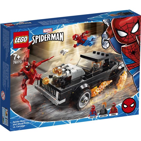 Image of Spider-Man and Ghost Rider vs. Carnage - 76173 - LEGO Super Heroes (76173)