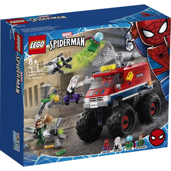 Image of Spider-Man's Monster Truck vs. Mysterio - 76174 - LEGO Super Heroes (76174)