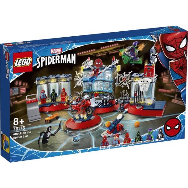 Image of Angreb på Spider-tilholdsstedet - 76175 - LEGO Super Heroes (76175)