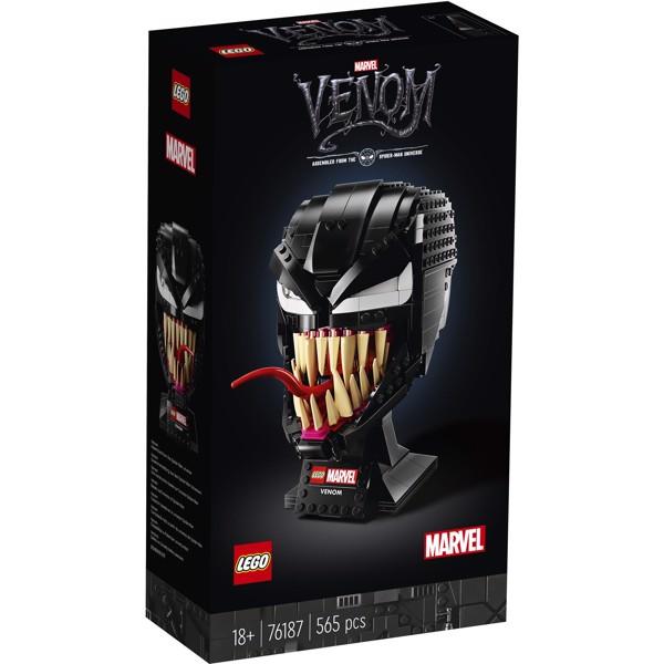 Image of Venom Helmet - 76187 - LEGO Super Heroes (76187)
