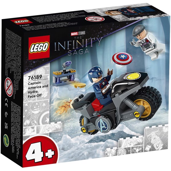 Image of Captain Americas kamp mod Hydra - 76189 - LEGO Super Heroes (76189)
