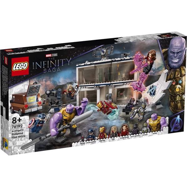 Image of Avengers: Endgame - den endelige kamp - 76192 - LEGO Super Heroes (76192)
