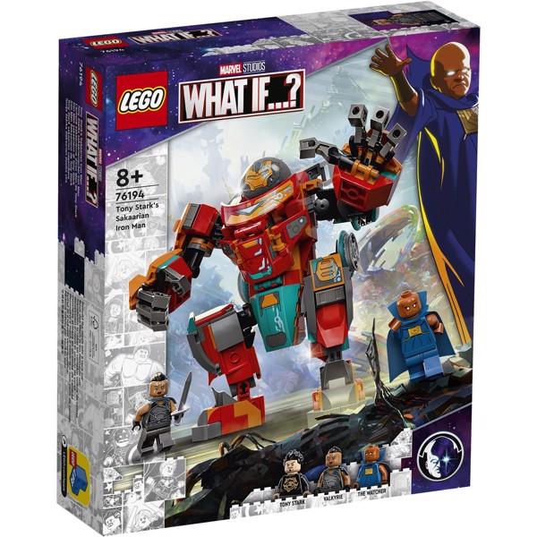 Image of Tony Starks sakaarianske Iron Man - 76194 - LEGO Super Heroes (76194)