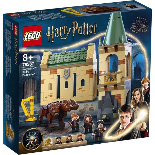 Image of Hogwarts: Mødet med Fluffy - 76387 - LEGO Harry Potter (76387)