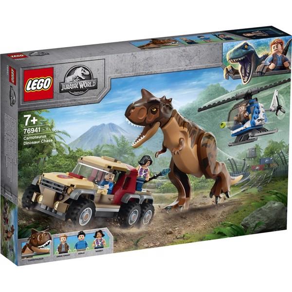 Image of Carnotaurus Dinosaur Chase - 76941 - LEGO Jurassic World (76941)