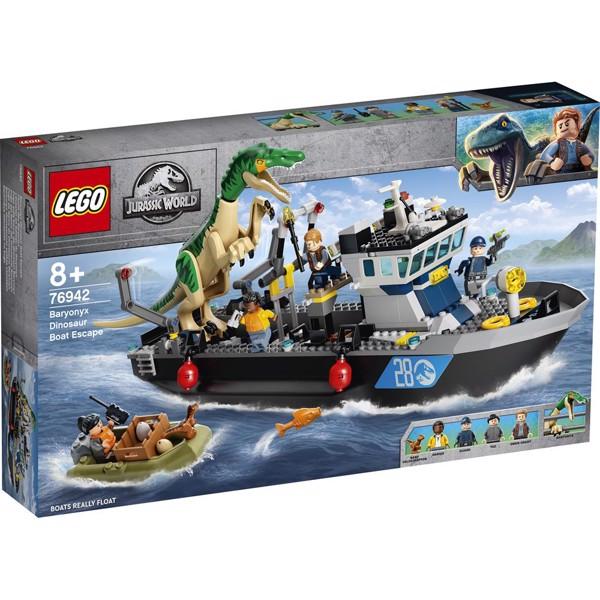 Image of Baryonyx Dinosaur Boat Escape - 76942 - LEGO Jurassic World (76942)