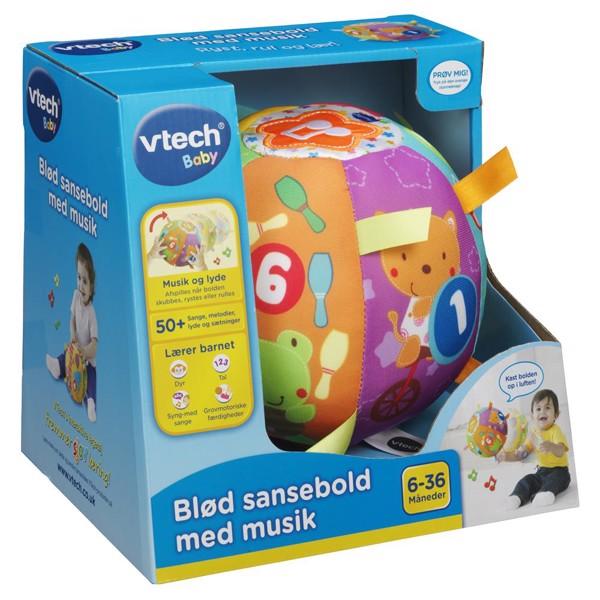 Image of Blød sansebold med musik - Vtech (MAK-950-166132)