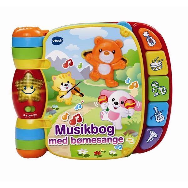 Image of Baby musikbog med børnesange - Vtech (MAK-950-166732)