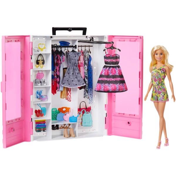Image of Fashionistas Ultimative klædeskab m.dukke - Barbie (MAK-960-0504)
