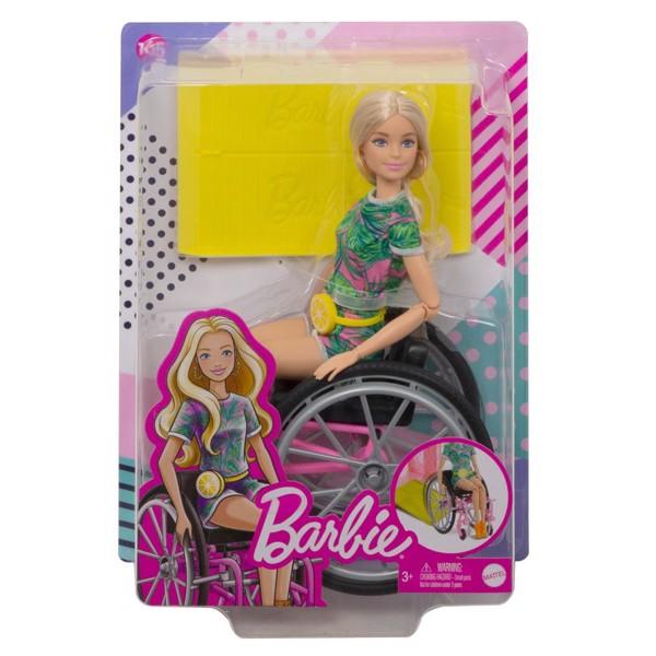 Image of Fashionistas kørestol m. dukke - Barbie (MAK-960-0545)