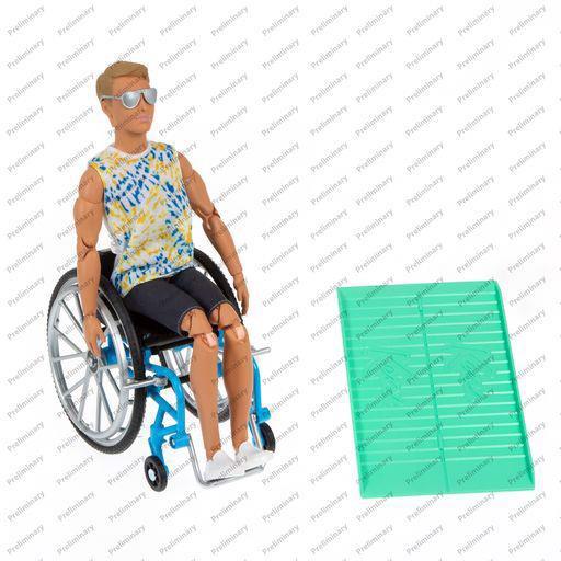 Image of Ken kørestol - Barbie (MAK-960-0550)