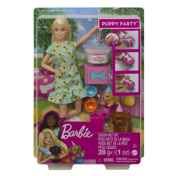 Image of Puppy Party - Blonde - Barbie (MAK-960-0903)