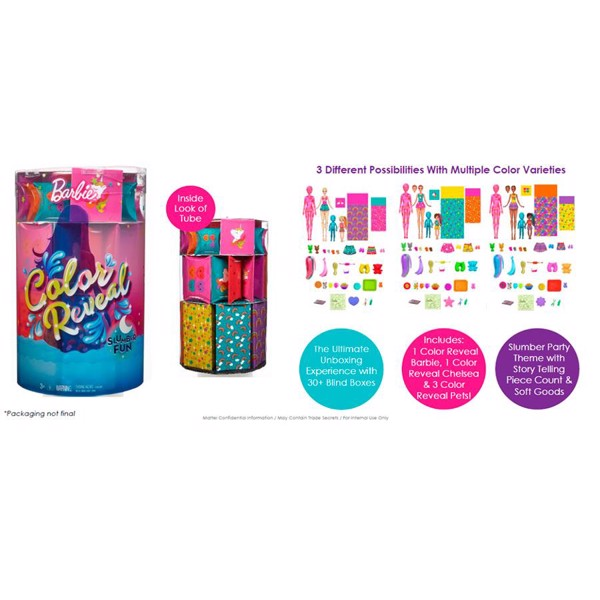 Image of Color Reveal Can Giftset - Barbie (MAK-960-2028)