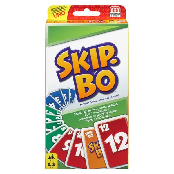 Image of SKIP-BO Card Game (Scandinavian) - Fun & Games (MAK-967-1105)