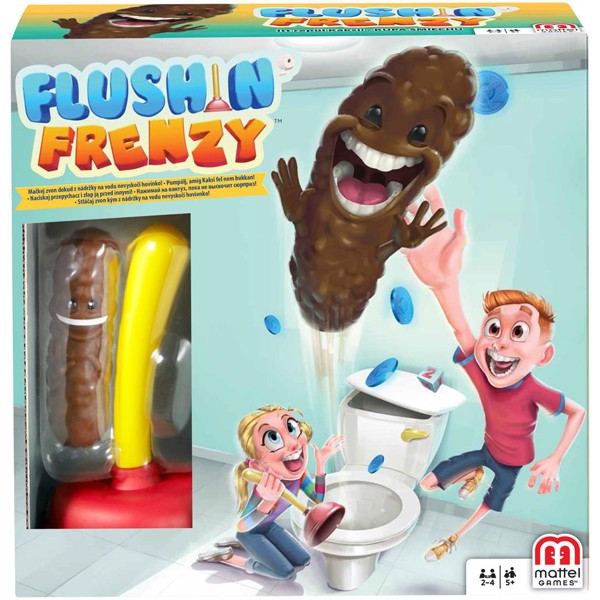 Image of Flushin Frenzy - Fun & Games (MAK-967-1118)