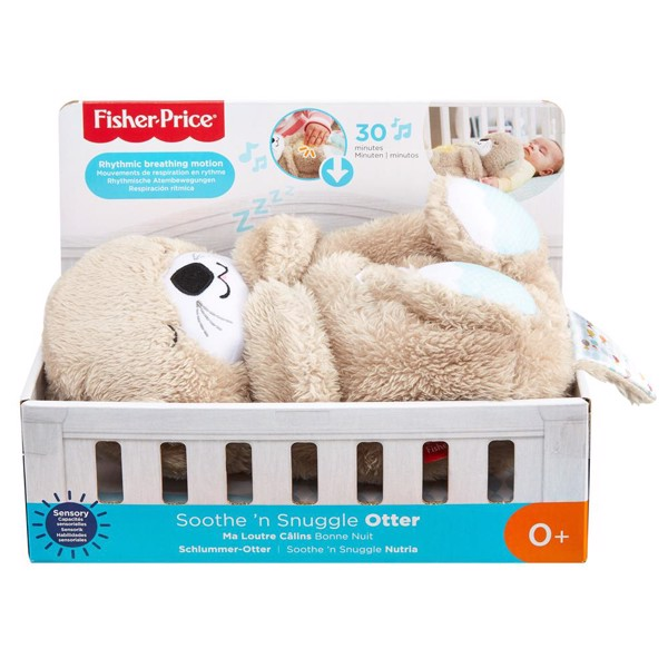 Image of Soothe n Snuggle Otter - Fisher Price (MAK-972-1606)