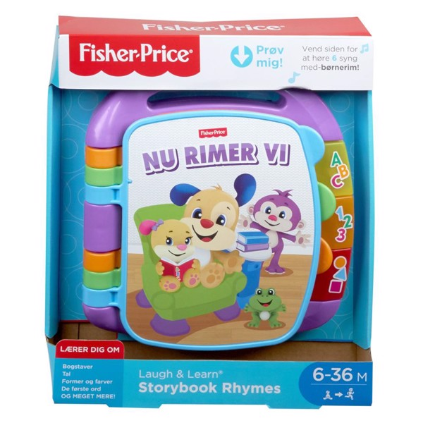 Image of Laugh & Learn Storybook Rhymes - Fisher Price (MAK-972-1701)