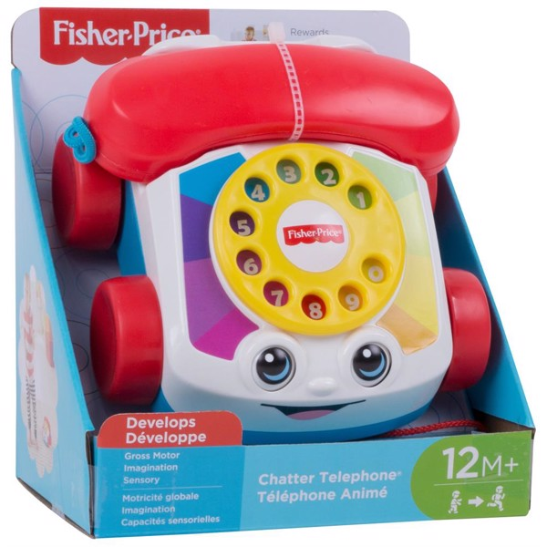 Image of Chatter Telephone - Fisher Price (MAK-972-1709)