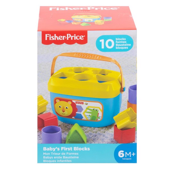 Image of Babys First Blocks - Fisher Price (MAK-972-1721)