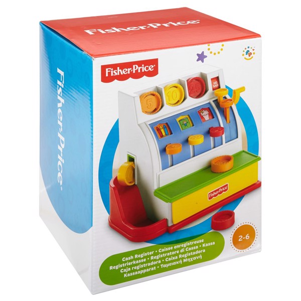Image of Kasseapparat - Fisher Price (MAK-972-1801)