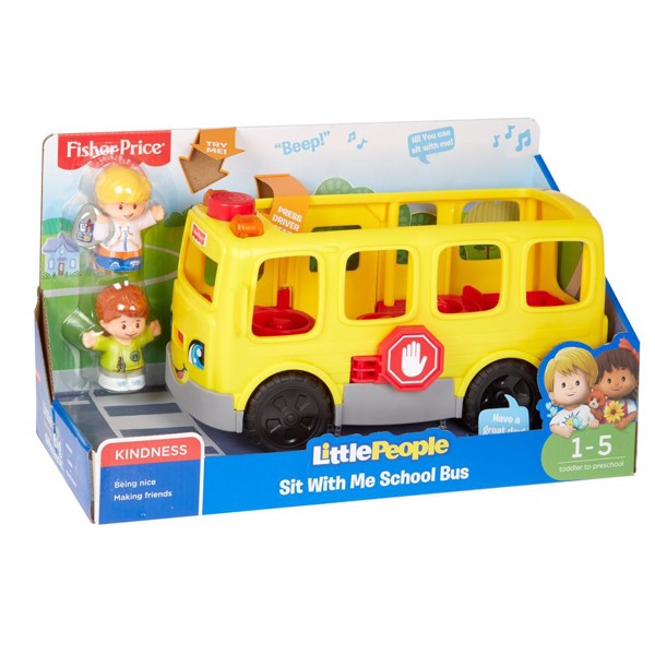 Image of LP Sit with Me School Bus - Fisher Price (MAK-972-1813)