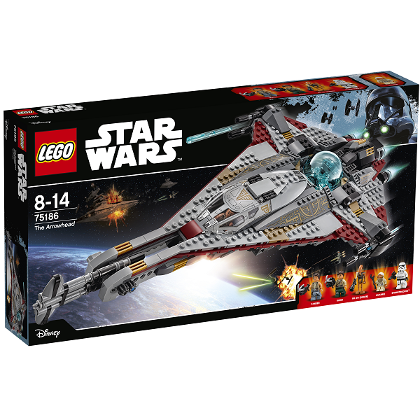 Image of   Arrowhead - 75186 - LEGO Star Wars