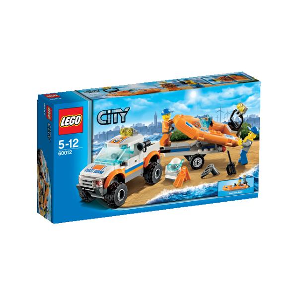 Image of   Firhjulstrækker og dykkerbåd - 60012 - LEGO City