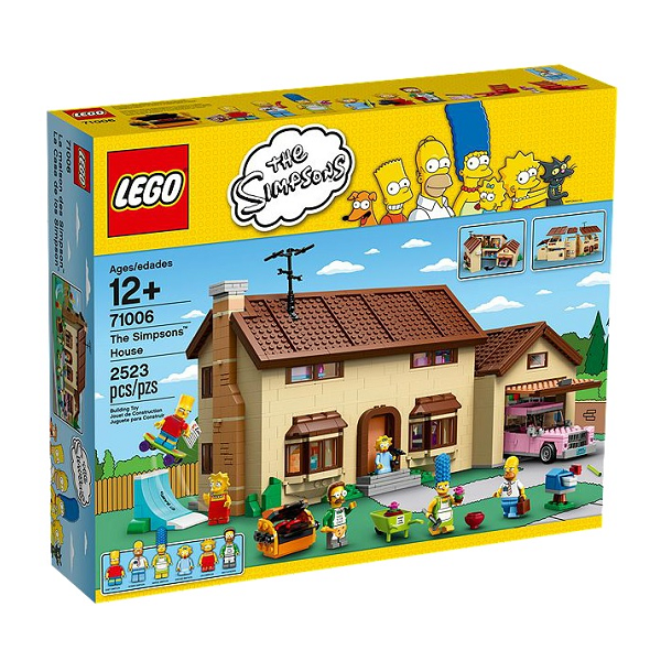Image of   The Simpsons House - 71006 - LEGO Exclusive