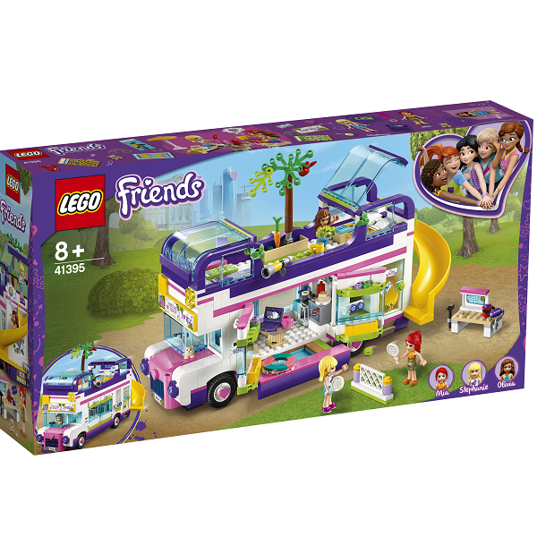 Image of   Venskabsbus - 41395 - LEGO Friends