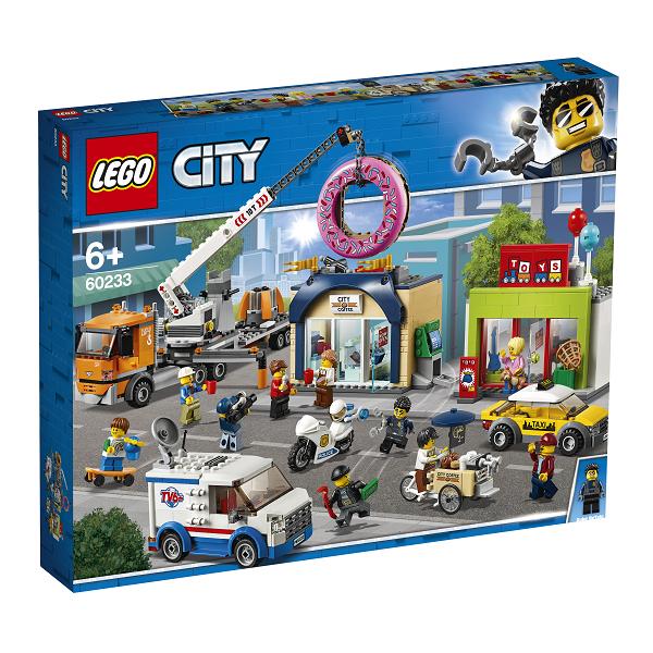Image of Åbning af doughnutbutikken - 60233 - LEGO City (60233)