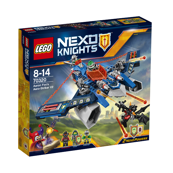 Image of   Aaron Fox luftangriber V2 - 70320 - LEGO NEXO Knights