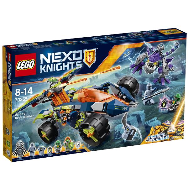 Billede af Aarons klippeklatrer - 70355 - LEGO Nexo Knights