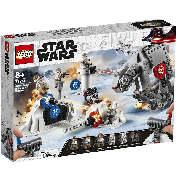 Image of Action Battle - Forsvaret af Echobasen - 75241 - LEGO Star Wars (75241)