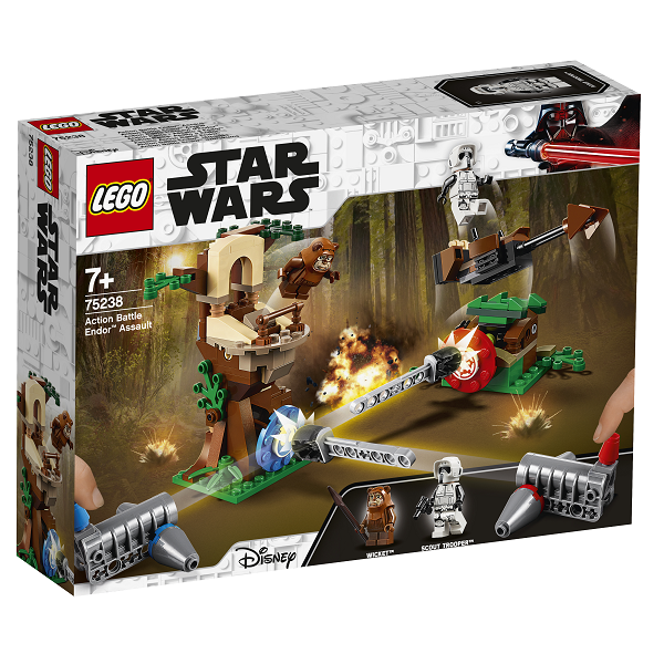Image of Action Battle - Angreb på Endor - 75238 - LEGO Star Wars (75238)