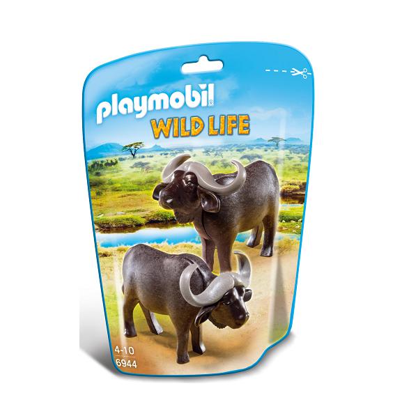 Image of   Afrikanske bøfler - PL6944 - Playmobil Wild Life