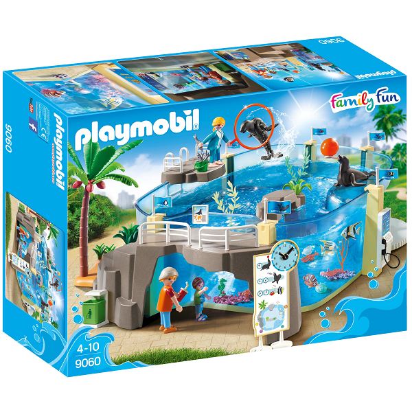 Image of Akvarie - PL9060 - PLAYMOBIL Family Fun (PL9060)