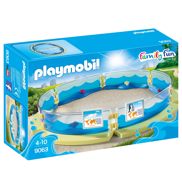 Image of   Akvarieindhegning - PL9063 - PLAYMOBIL Family Fun