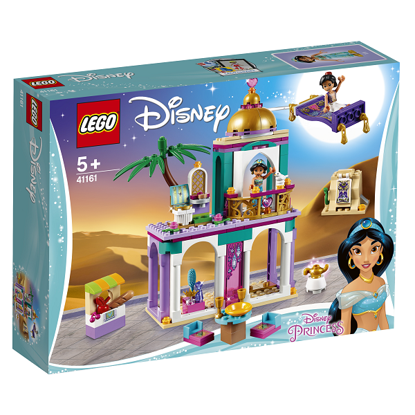 Image of Aladdin og Jasmins paladseventyr - 41161 - LEGO Disney Princess (41161)